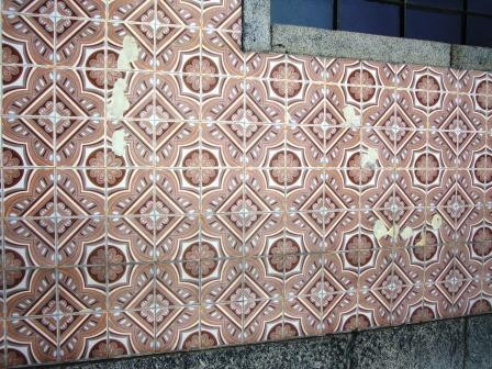 Exterior (degradação do azulejo)