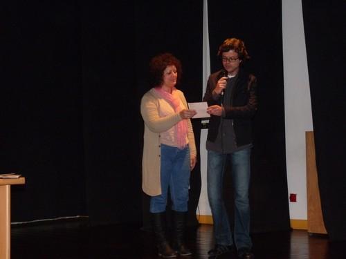 Os professores também foram convidados a dizer poesia