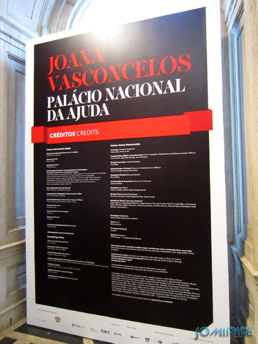 Joana Vasconcelos - Cartaz da Exposição no Palácio da Ajuda [EN] Exhibition Poster in Ajuda Palace