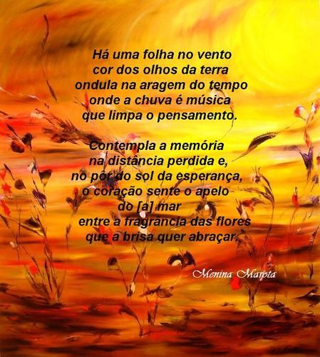 Poema Otília Martel (Menina Marota), Pintura de N. Bou (Cuba)