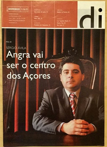 Capa DI Domingo 15 6 2003 SAvila.jpg