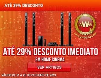 Até 29% desconto Imediato | WORTEN |, em Home Cinema, até 25 outubro
