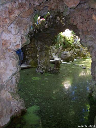Sintra: Quinta da Regaleira - Gruta