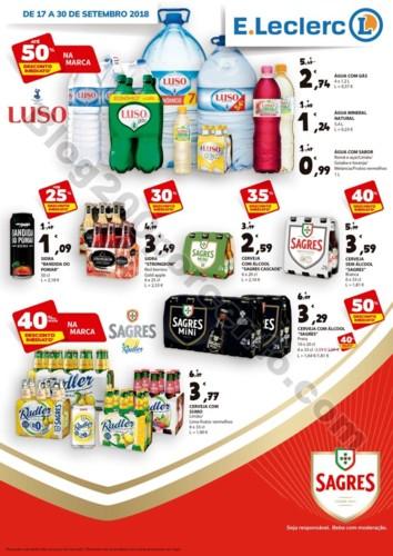 Antevisão Folheto E-LECLERC Extra Bebidas promoç