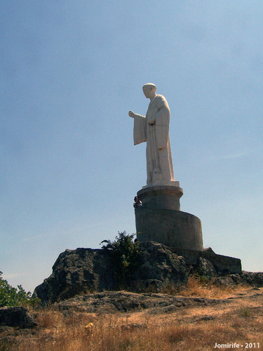 Bragança: Estátua de São Bento