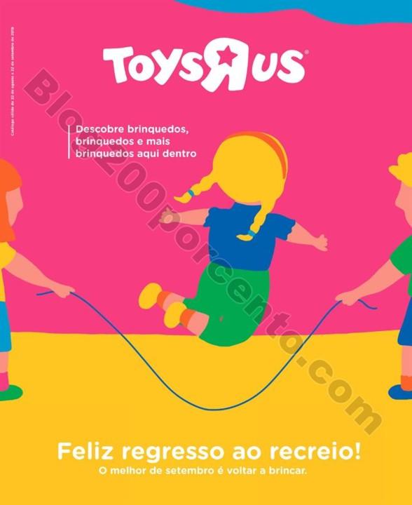 Antevisão Folheto TOYSRUS Regresso às aulas Prom
