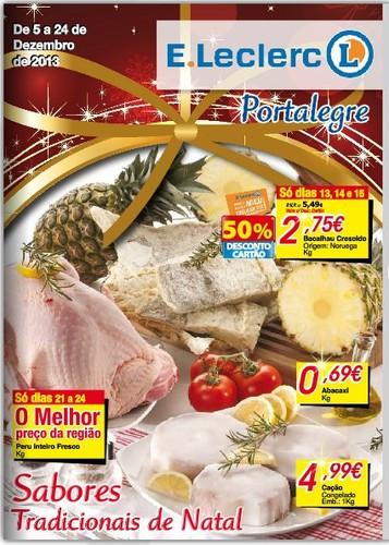 Antevisão Folheto | E-LECLERC | Portalegre de 5 a 24 dezembro
