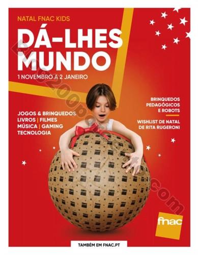 Antevisão Folheto FNAC Natal Kids Promoções de