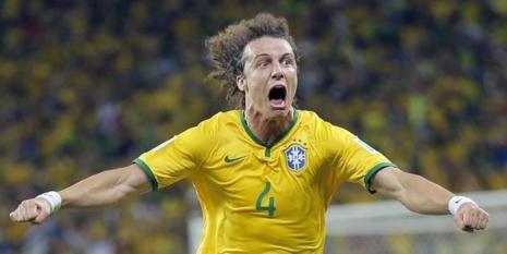 David Luiz marcou o golo decisivo