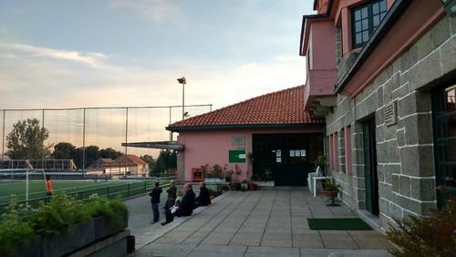 Escola de futebol Hernâni Gonçalves e Restaurante Porto d'Honra no Complexo Cultural e Desportivo dos Trabalhadores da Câmara Municipal do Porto.