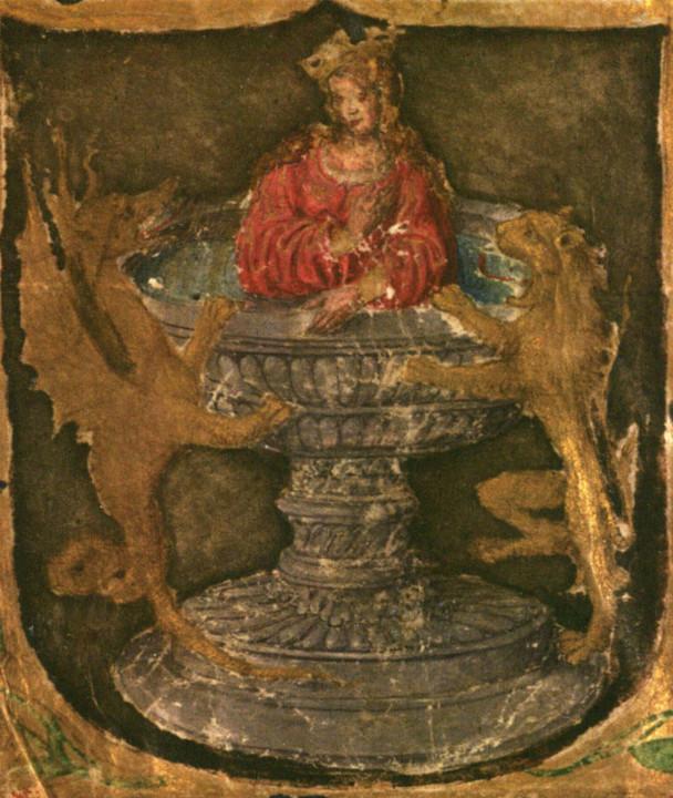 Figura 2 — Detalhe do rosto do Foral de Coimbra,