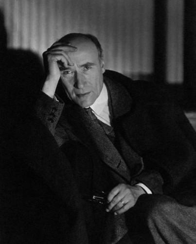 André Gide. 1927 [Foto de Berenice Abbott]