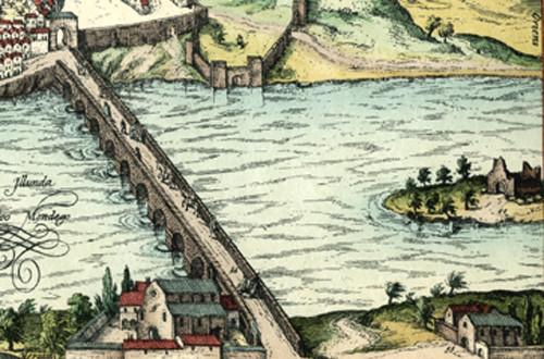 Vista de Coimbra. Georg Braun e Franz Hoefnagel (c