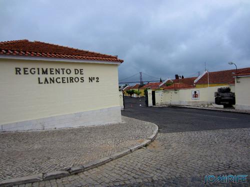 Lisboa - Regimento de Lanceiros nº 2 - Exército (1) Entrada [en] Lisbon - Lancers Regiment No. 2 - Army - Entry