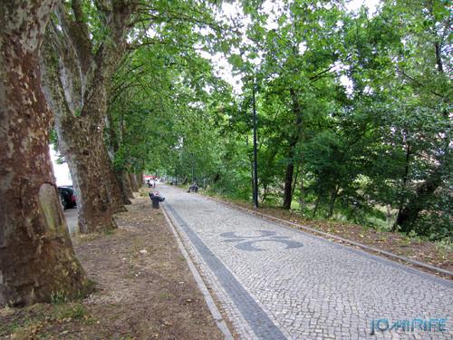 Jardim do Polis Leiria (Centro) - Calçada (1) [en] Polis Garden of Leiria, Portugal