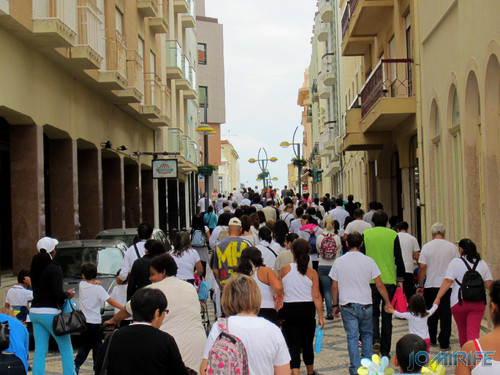 """Caminhada Solidária """"Coração Saudável, Coração Solidário"""" na Figueira da Foz - Rua Cândido dos Reis, Bairro Novo (1) [en] Solidarity walk in Figueira da Foz Portugal"""