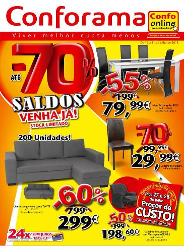 Folheto cat logo conforama novidades campanhas 15 de for Conforama catalogo espejos