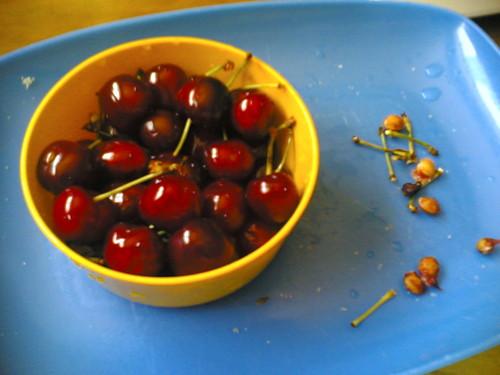 Cerejas para a sobremesa