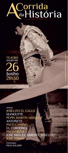 Hoje, no Teatro Angrense...