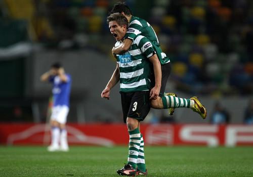 Daniel+Carrico+Sporting+Lisbon+v+Everton+UEFA+Goto