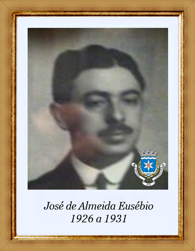 José de Almeida Eusébio - 1926 a 1931 - emblema.