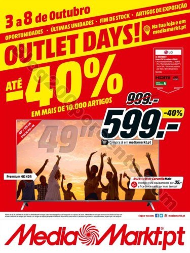 outlet media markt promoções de 3 a 8 outubro p1
