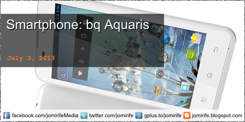 Blog Post: Smartphone bq Aquaris