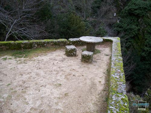 Serra da Estrela, Portugal - Mesa de predra