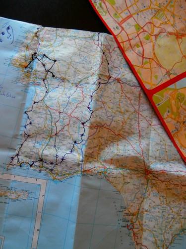 Mapa de Viagem