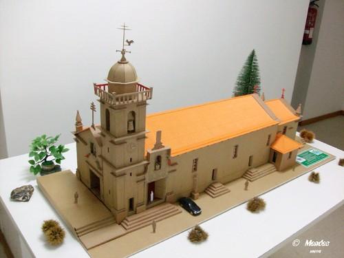 Vila de Cerva - Maquete da Igreja de São Pedro