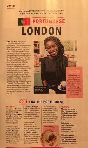 Portuguese London TimeOut