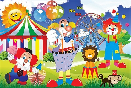 5x7FT-Cartoon-font-b-Circus-b-font-font-b-Tent-b-f
