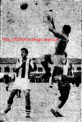 1955-56-fcb-porto-custódio do fcb e arcanjo e pin
