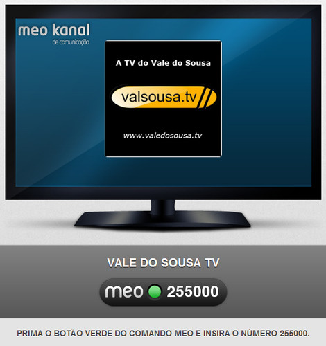 Vale do Sousa TV no MEO Kanal