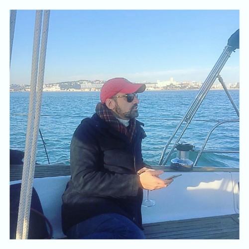 Nuno_Matos_Cabral a velejar, Lisboa.JPG