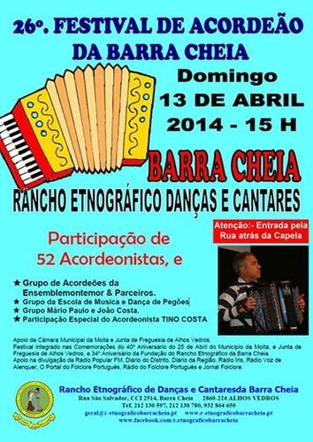 Festival de Acordeãos em Barra Cheia