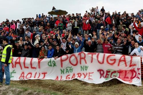 O povo do norte reclama o regresso do Rali de Portugal...