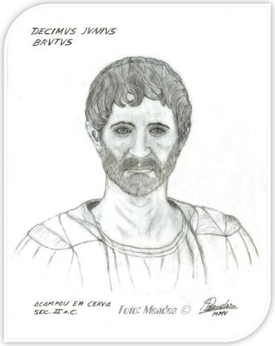 Cerva (Cerve) - Decimus Junius Brutus