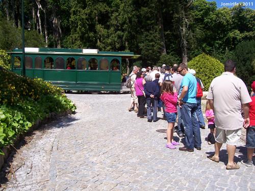 Sintra: Pena/Mouros - Conhecer de comboio