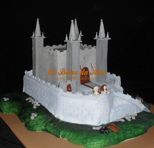 Bolo 3D Castelo
