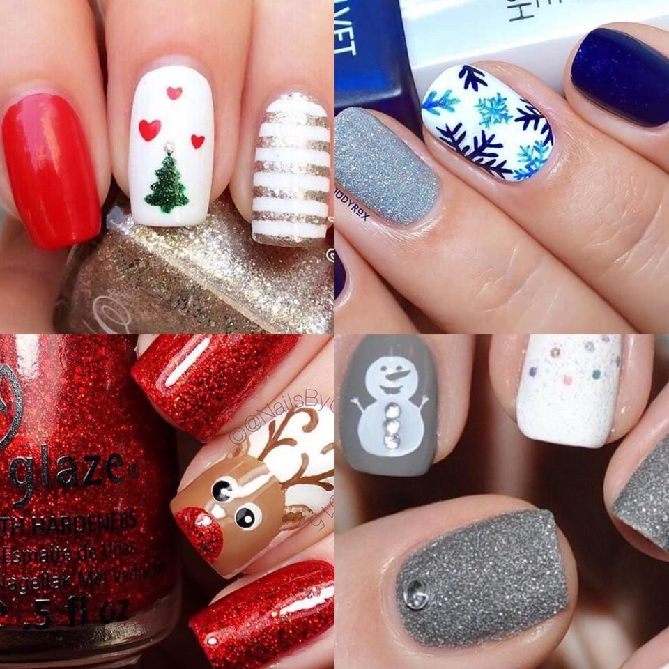 BLOGMAS | Dia 23: manicure de NatalG