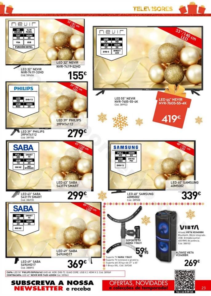 Antevisão Folheto Conforama Natal Promoções de