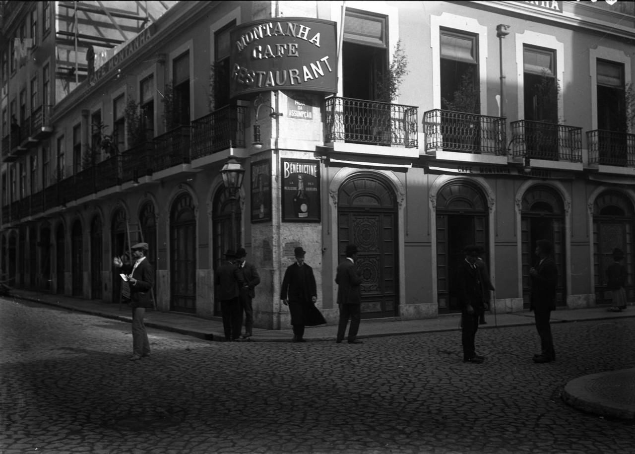 o Café Montanha Cerca de 191020. Foto de Alberto