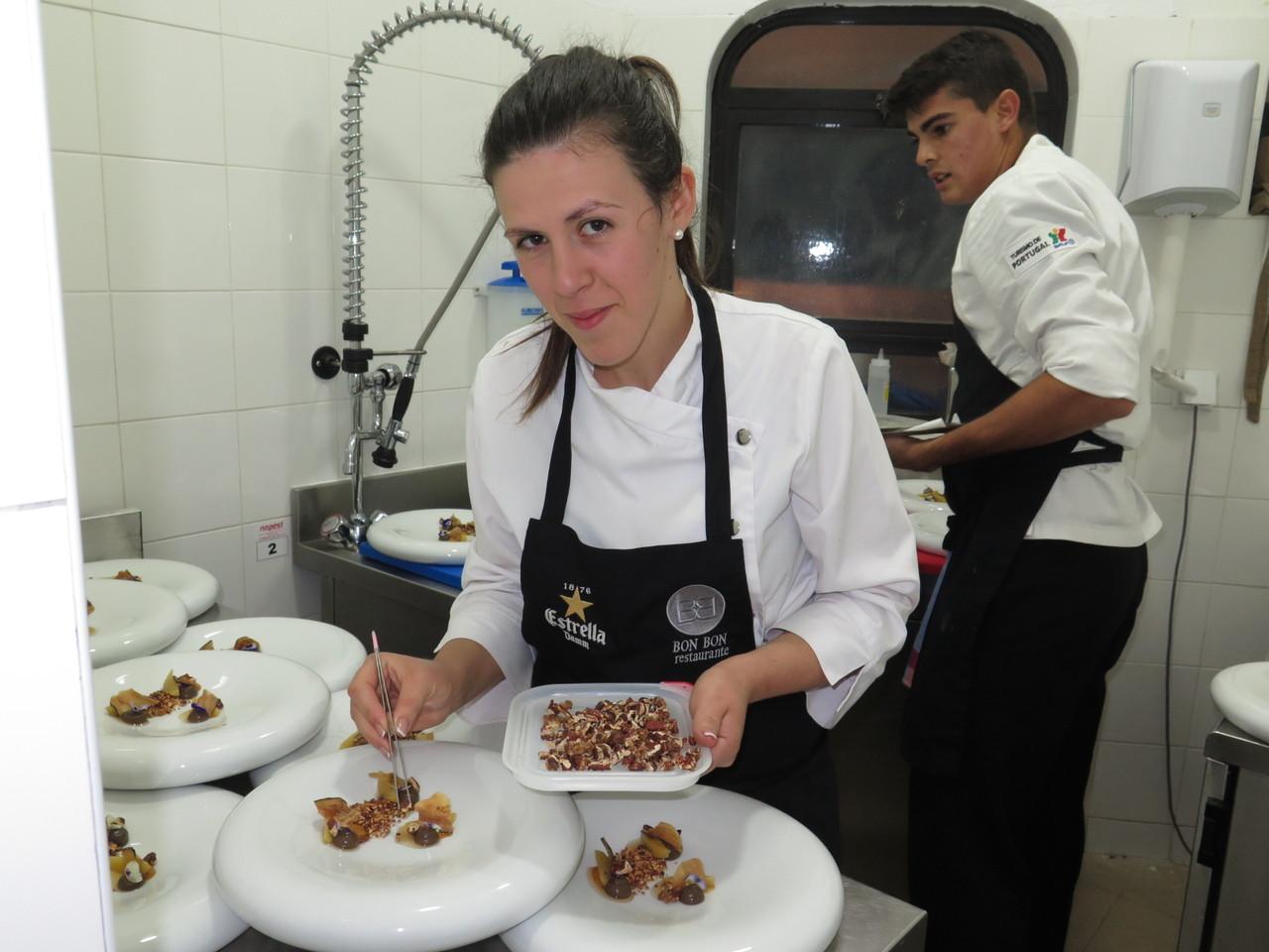 Nadia Carrasco e a Noz Pecan