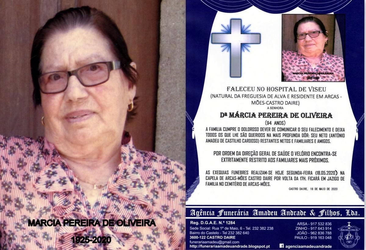 FOTO RIP DE MÁRCIA PEREIRA DE OLIVEIRA-94 ANOS (R