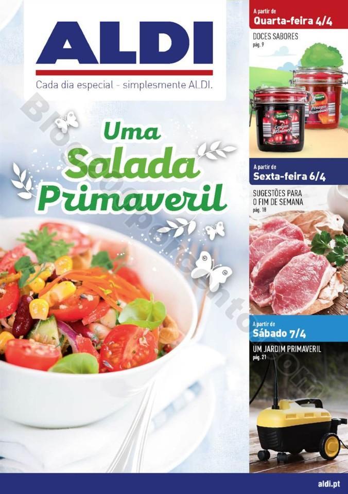 Antevisão Folheto ALDI Promoçõesa partir de 4 a