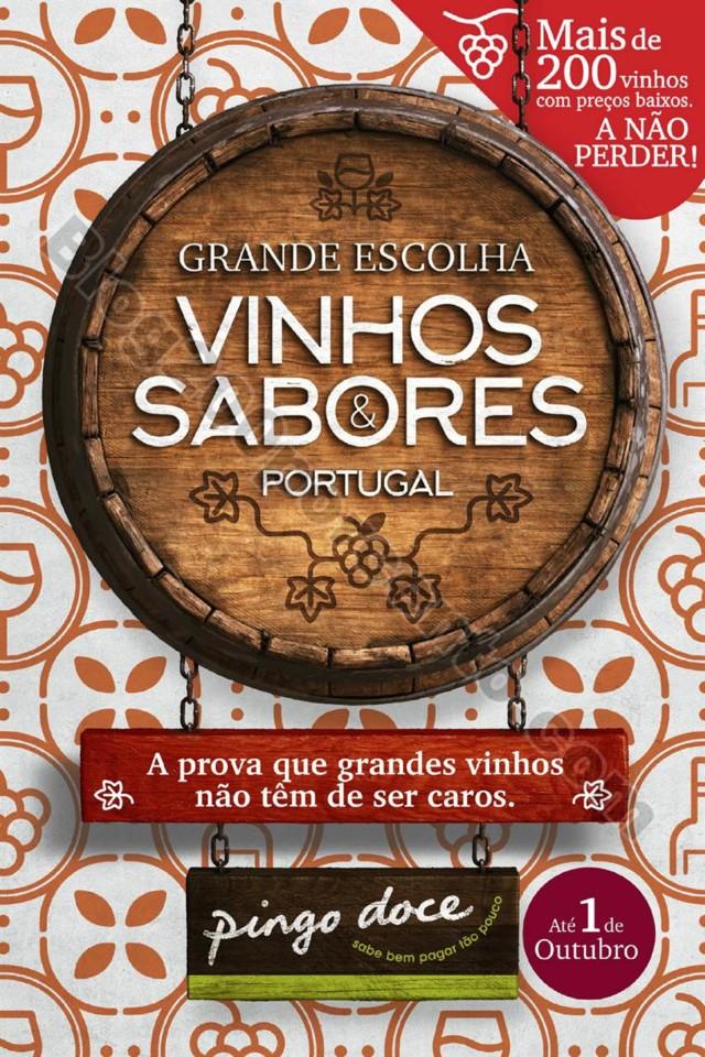 Antevisão Folheto PINGO DOCE Vinhos e Sabores Pro