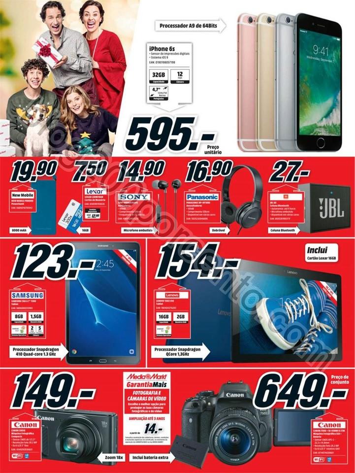 Novo Folheto MEDIA MARKT Promoções de 26 dezembr