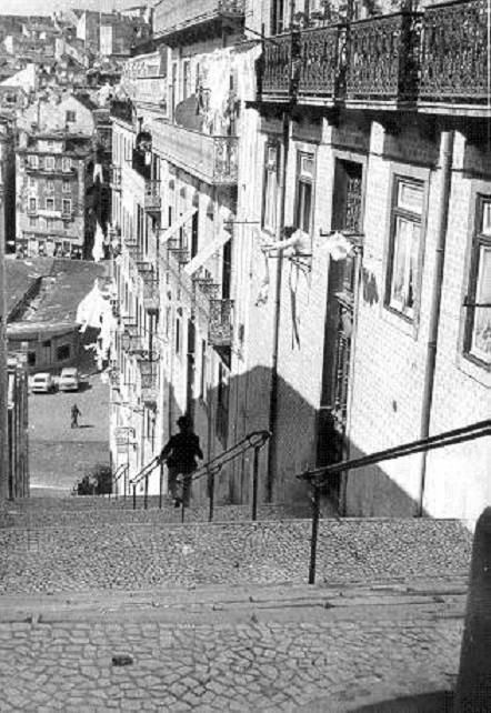 Escadinhas da Saúde, 1970, foto de João Goulart.