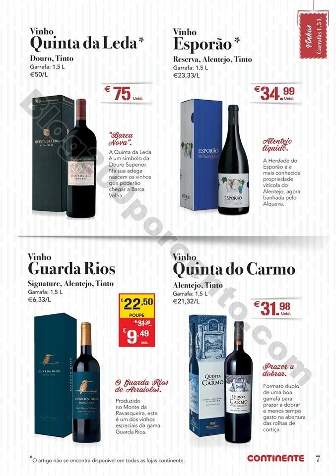 Antevisão Folheto CONTINENTE Natal bebidas Promo